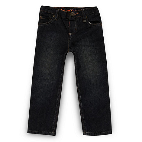 bluezoo - Boy's dark blue straight leg jeans
