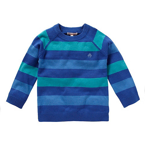 bluezoo - Boy+s blue striped jumper