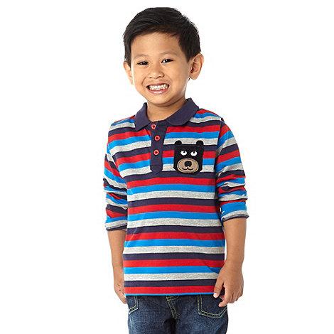 bluezoo - Boy+s multi striped polo top