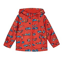 bluezoo - Boys' red car print jacket