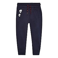 bluezoo - Boys' navy face applique jogging bottoms