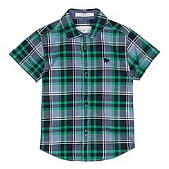 J by Jasper Conran - Boys' green checked shirt