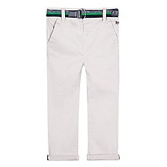 J by Jasper Conran - Boys' grey slim fit chino trousers