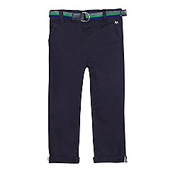 J by Jasper Conran - Boys' navy slim fit chinos