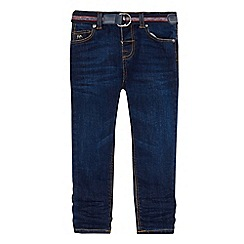 J by Jasper Conran - Boys' dark blue super skinny jeans
