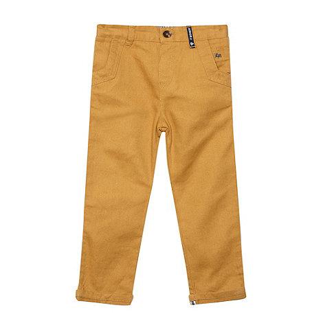 J by Jasper Conran - Boy+s tan coloured jeans