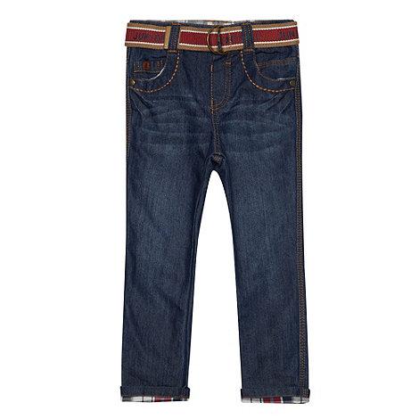 J by Jasper Conran - Designer boy+s blue belted jeans