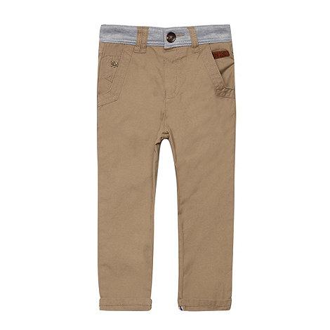 J by Jasper Conran - Boy+s stone jersey waist chino trousers