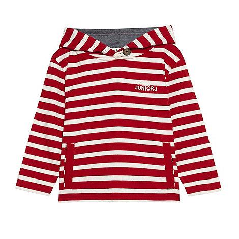 J by Jasper Conran - Boy+s red striped sweat top