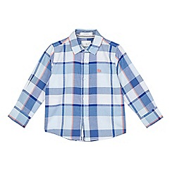 J by Jasper Conran - Boys' blue checked shirt
