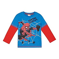 Spider-man - Boys' red and blue 'Spider-Man' t-shirt