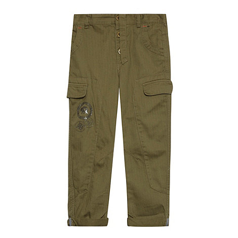 RJR.John Rocha - Boy+s green casual trousers