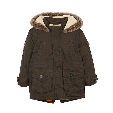 RJR.John Rocha - Boy+s dark grey padded parka