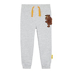 The Gruffalo - Boys' grey 'Gruffalo' applique jogging bottoms