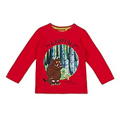 The Gruffalo - Boys' red 'Gruffalo' top