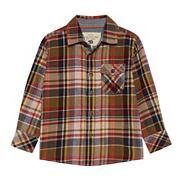 Boy's multi long sleeved checked shirt