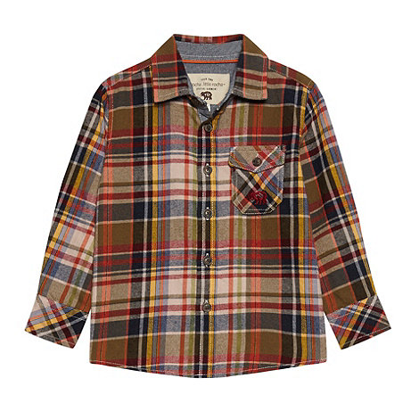 RJR.John Rocha - Boy+s multi long sleeved checked shirt