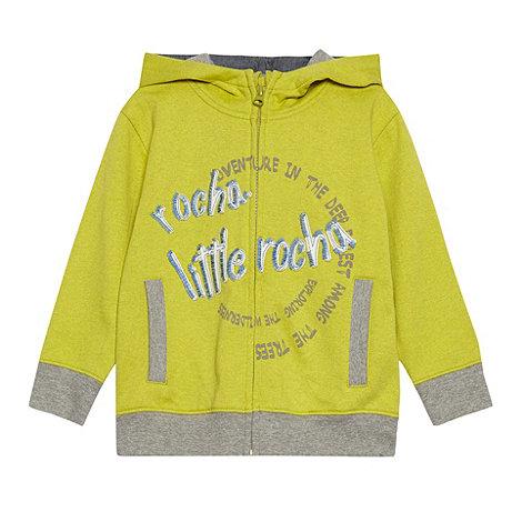 RJR.John Rocha - Boy+s yellow hooded sweat top