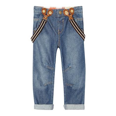 RJR.John Rocha - Boy+s blue jeans with braces