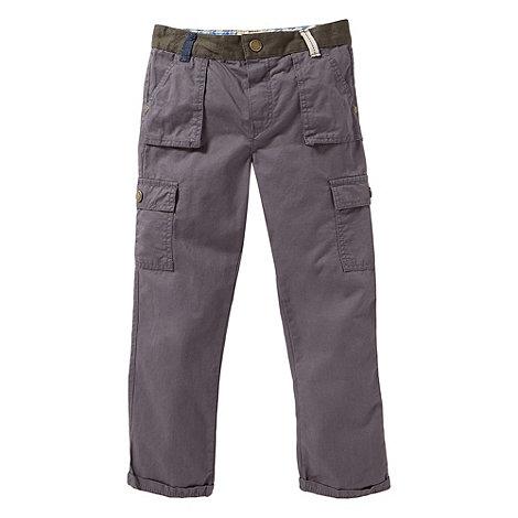 RJR.John Rocha - Boy+s lilac contrast chino trousers