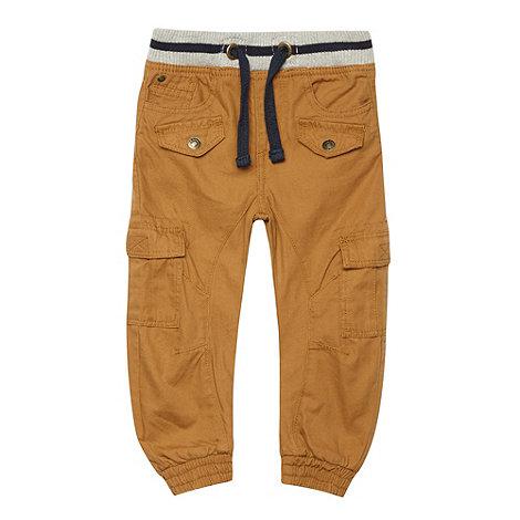 RJR.John Rocha - Boy+s brown ribbed waist casual trousers