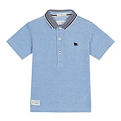 J by Jasper Conran - Boys' blue pique polo shirt