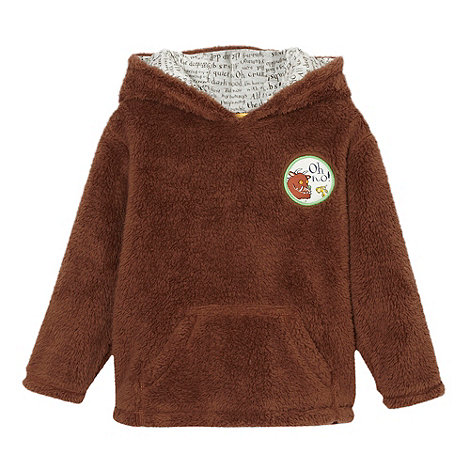 The Gruffalo - Boy+s brown +Gruffalo+ fleece