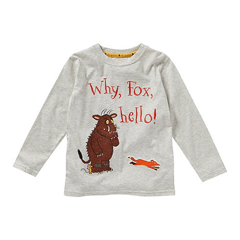 The Gruffalo - Boy+s light grey +Gruffalo+ t-shirt