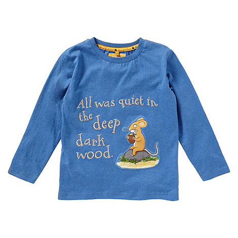 The Gruffalo - Boy+s blue +Gruffalo+ t-shirt