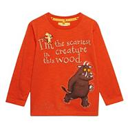Boy's orange 'Gruffalo' t-shirt