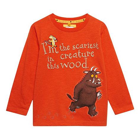 The Gruffalo - Boy+s orange +Gruffalo+ t-shirt