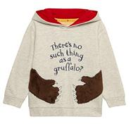 Boy's light grey 'Gruffalo' sweat hoodie