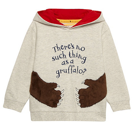 The Gruffalo - Boy's light grey 'Gruffalo' sweat hoodie