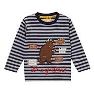 Boy's navy striped 'Gruffalo' top