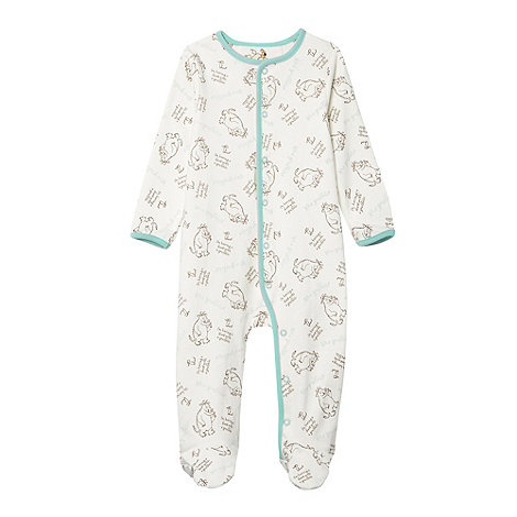 The Gruffalo - Babies cream +Gruffalo+ printed sleepsuit