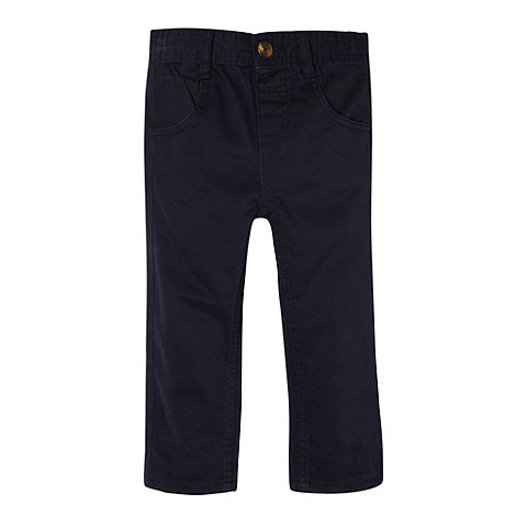 bluezoo - Boy+s navy twill chinos