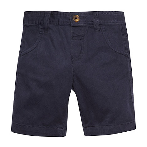 bluezoo - Boy+s navy chino shorts