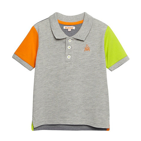 bluezoo - Babies multicoloured polo shirt