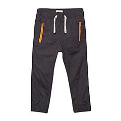 bluezoo - Boy's grey zip trousers