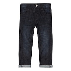 bluezoo - Boys' navy twisted jeans