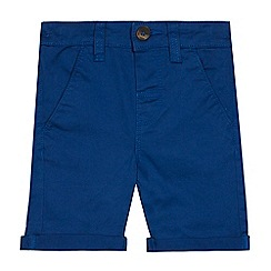 bluezoo - Boys' blue chino shorts