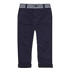 J by Jasper Conran - Boys' navy striped waist chinos