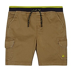 Mantaray - Boys' beige cargo shorts