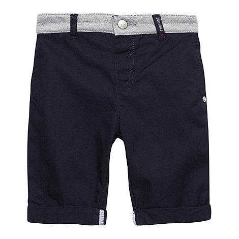 J by Jasper Conran - Designer boy+s navy jersey waistband shorts