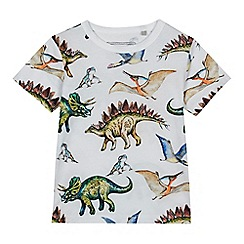 bluezoo - Boys' multi-coloured dino print t-shirt