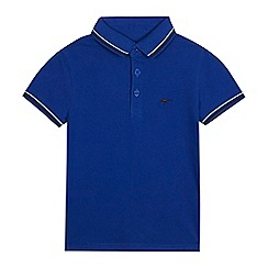 bluezoo - Boys' blue polo shirt