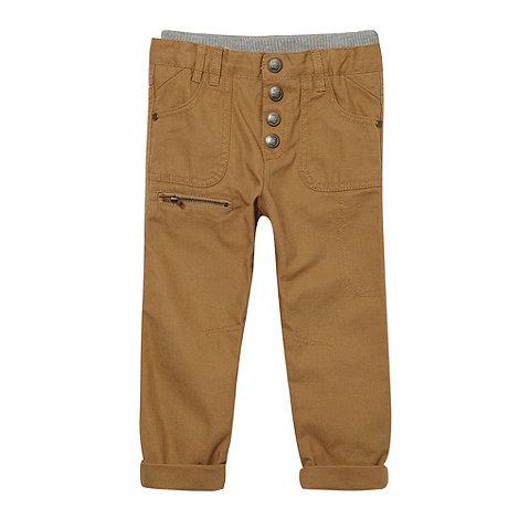 RJR.John Rocha - Designer boy+s beige ribbed trousers