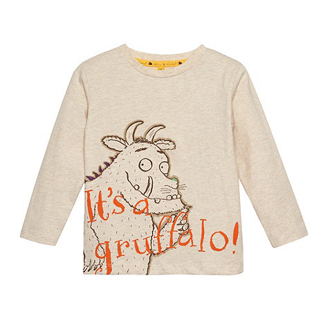 The Gruffalo - Boy+s beige +Gruffalo+ long sleeved top