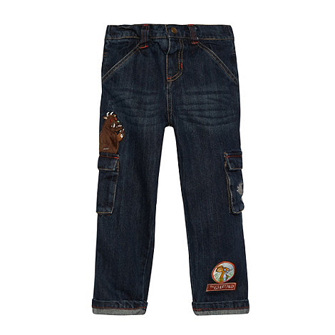 The Gruffalo - Boy+s dark wash blue +Gruffalo+ jeans