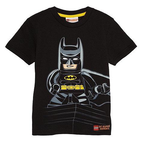 LEGO - Boy+s black +Lego Batman+ t-shirt